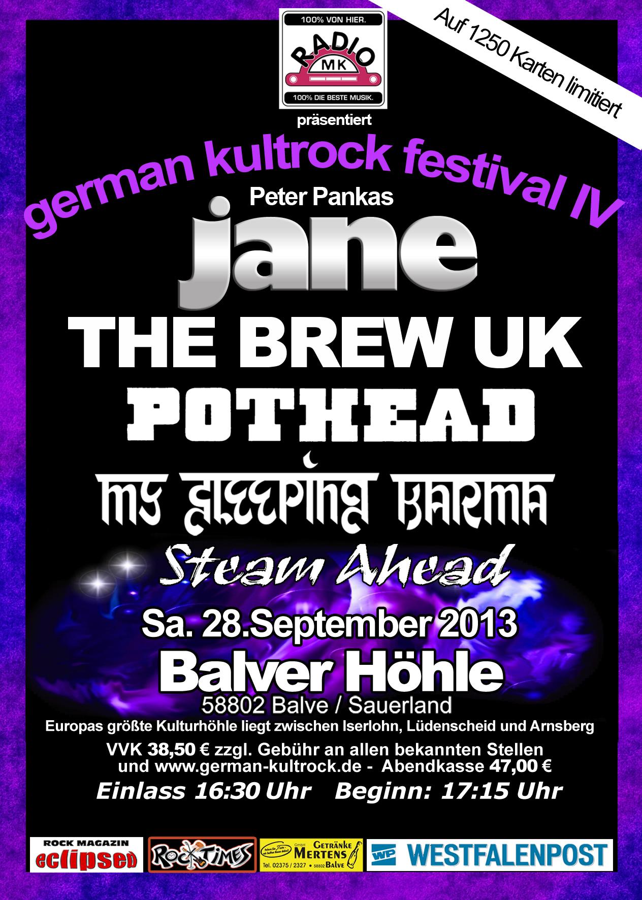 Balver Höhle – German Kultrock Festival