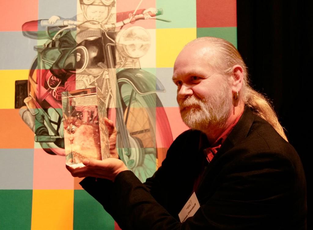 Ole Ohlendorff - Kulturpreisträger des Landkreises Harburg 2009