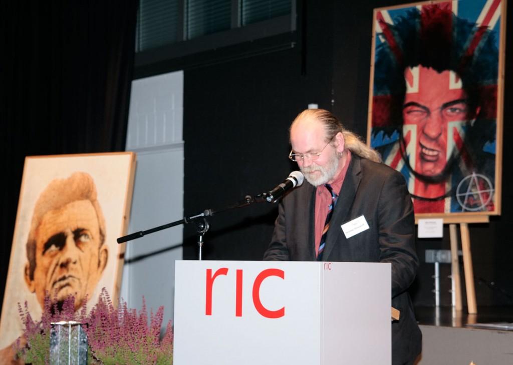 Dankesrede von Ole Ohlendorff im RIC-Hittfeld