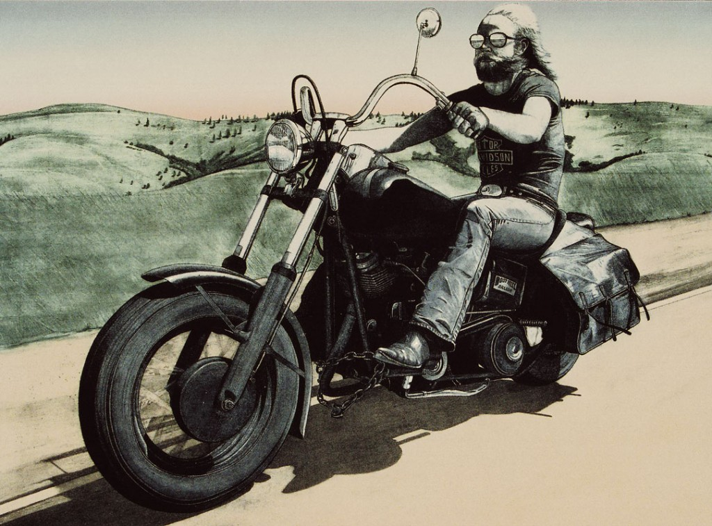 Easyrider on Canvas (2011) - C-Print auf Leinwand, C-Print on Canvas, 140 cm x 100 cm