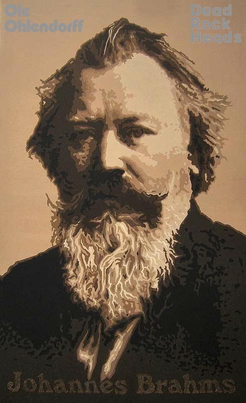 Johannes Brahms <b>*07.05.1833 †03.04.1897</b>