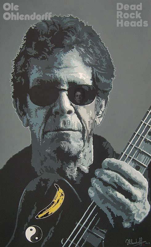 Lou Reed <b>*02.03.1942 †27.10.2013</b>