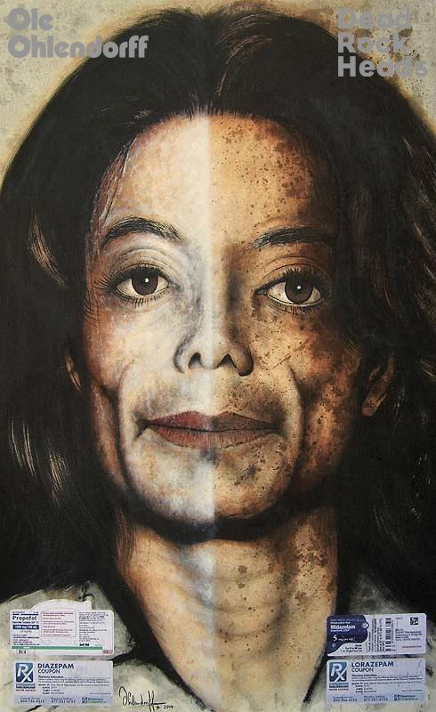 Michael Jackson <b>*29.08.1958 †25.06.2009</b>