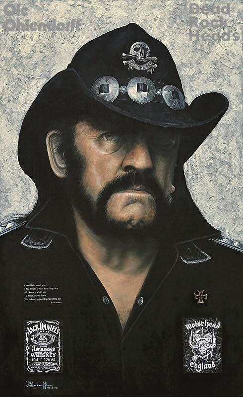Lemmy Kilmister <b>*24.12.1945 †28.12.2015</b>