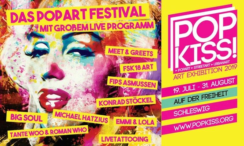 POP KISS! Art Exhibition 2019